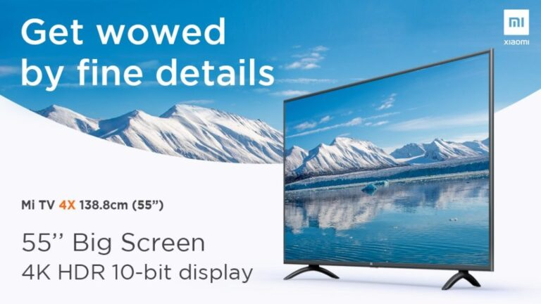 Xiaomi debuts Mi TV 4X and Mi LED TV 4A Pro in Nepal